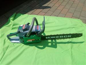 Chain saw 45cc two stroke