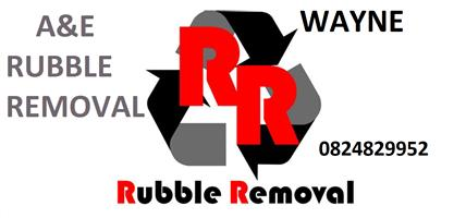 Garden services and rubble removal and tree felling - A&E professional services