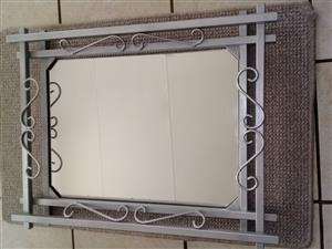 Mirror and picture frame