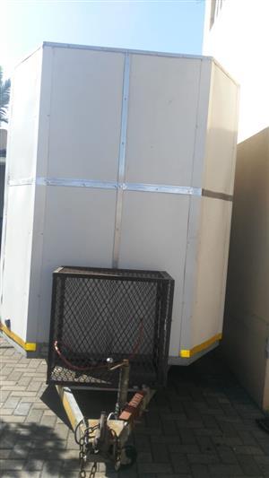 Mobile food trailer  3.0(L) X 1.8 (W) X 2.0 (H)