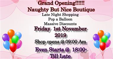 Grand Opening!!! a Must Read