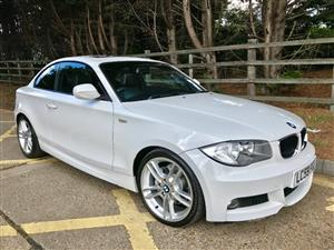 2010 BMW 1 Series 120d coupe Exclusive auto