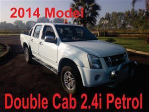 2014 Isuzu KB 240 double cab 4x4 LE