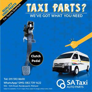 Clutch Pedal suitable for Toyota Quantum - SA Taxi Auto Parts quality used spares