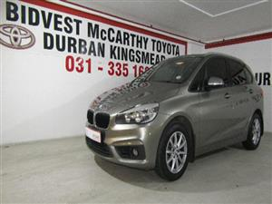 2016 BMW 2 Series Active Tourer 218i Active Tourer auto