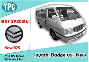 Inyathi Badge 05-00 New For Sale at TPC.