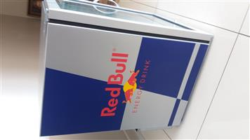 Red Bull Display fridge