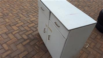 Steel kitchen cabinet (R300)
