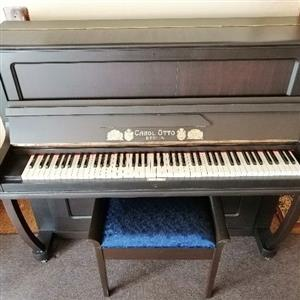 Piano restored