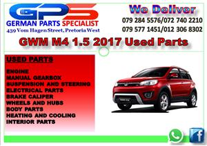 GWM M4 1.5 2017 USED PARTS FOR SALE