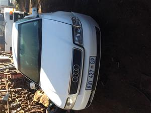 Stripping Audi A4 (B5) 2002 for Spares