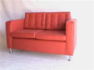 ST Helena double seater red couch