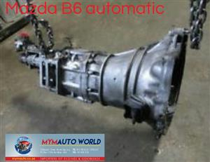 Imported used MAZDA B6 AUTOMATIC gearbox Complete