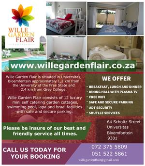 Wille Garden Flair Guesthouse