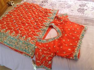 New sarie & blouse (bridal set)