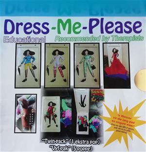 Dolls - Best educational gift for children! Dress-Me-Please Dolls! Single/Twin Sets (1/2 dolls, rucksack, accessories, materials) Anza 081 404 3930 / dressmeplease.anza@gmail.com