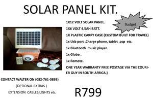 Solar system portable.