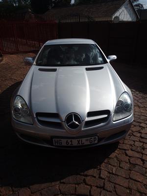 2008 Mercedes Benz SLK 200 Kompressor