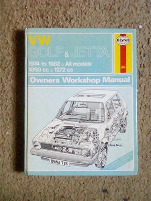 Golf /Jetta Workshop Manual .