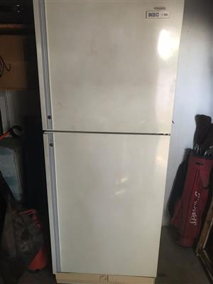 One KIC fridge/freezer for sale.