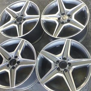 original AMG wheels