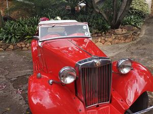 MG TD 1950 FOR SALE