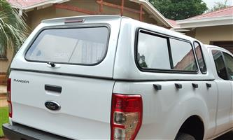 STD GC FORD RANGER T6 SUPERCAB LATEST MODEL LOW-LINER BAKKIE CANOPY FOR SALE!!!