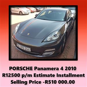 2010 Porsche Panamera 4 Platinum Edition