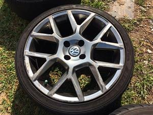 G6 edition 35 reps 4/100 with tyres
