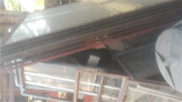 staal venster rame met glas