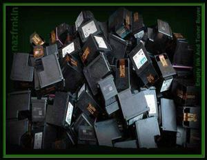 We Buy Empty/Used Ink and Toner Cartridges - Cash