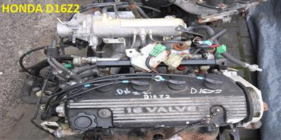 USED SECOND HAND LOW MILEAGE QUALITY ENGINES -  HONDA CIVIC 1.6L 16V - D16Z2
