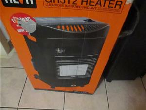 brand new 3 panels gas heater 3