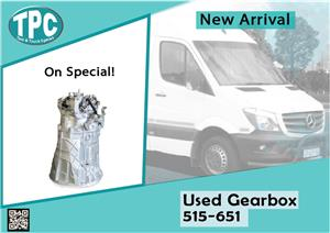 Mercedes Benz Sprinter Used Gearbox 515-651 for sale at TPC