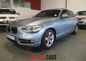2012 BMW 1 Series 118i 3 door Sport