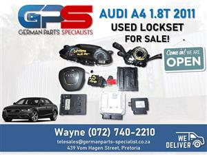 Audi A4 1.8T 2011 (CDH) - Lockset FOR SALE!