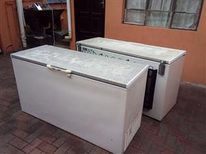 Defy chest freezer 530L x 2