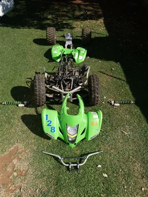 LTZ/KFX Quad stripping for spares
