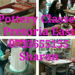 Pottery Classes..Pretoria East