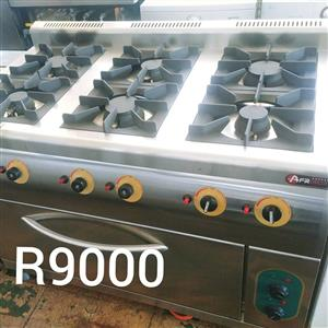 6 Plate gas stove for sale
