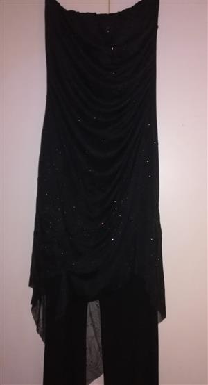 Black evening wear/matric ball