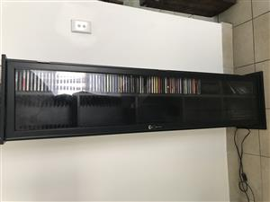 Cd and dvd cabinet
