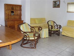 QUIET AND PRIVATE ONE BEDROOM FURNISHED COTTAGE R5000 PM INCLUDING ELECTRICITY AND WATER UMTENTWENI AVAILABLE JUNE