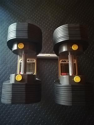 MX55 Adjustable Dumbbells