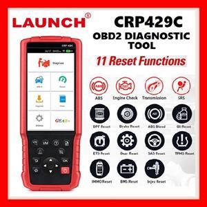 LAUNCH CRP 429C 4 Auto Diagnostic Systems Engine ABS Device SRS AT plus 11 Services