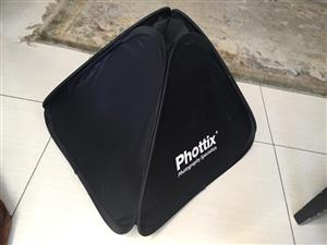 Phottix Transfolder 40 x 40cm Softbox with Flash Mount Kit