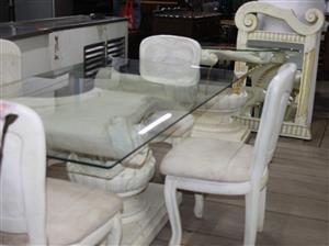 S034406B 7 Piece dining room suite #Rosettenvillepawnshop
