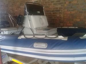 Rubber Duck with Galvanised Tip Trailer for Sale (No Motors)