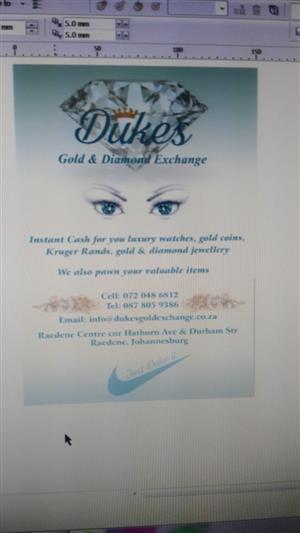 Dukes gold and diamond exchange