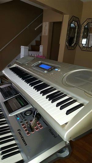 tkc organ casiowk-3300keyboard